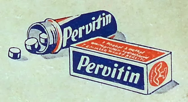Pervitin-metanfetamina