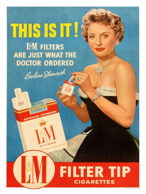50s cigarette advert